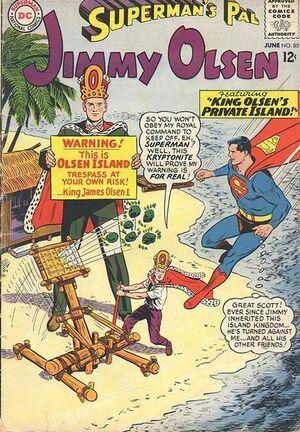 Superman's Pal, Jimmy Olsen Vol 1 85.jpg