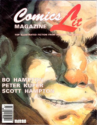 Comicslit Magazine Vol 1 1