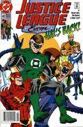 Justice League Europe Vol 1 40