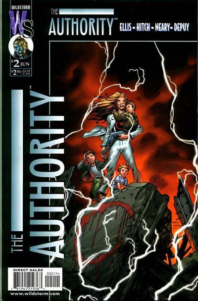 The Authority Vol 1 2
