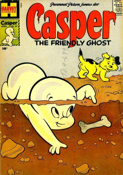 Casper, the Friendly Ghost Vol 1 67