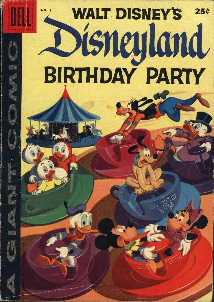 Disneyland Birthday Party Vol 1