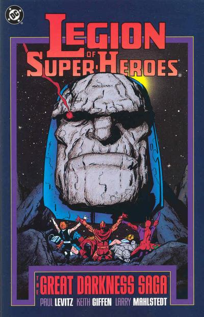 Legion of Super-Heroes The Great Darkness Saga the Deluxe Edition Vol 1 1