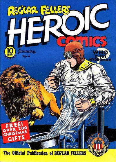 Reg'lar Fellers Heroic Comics Vol 1 4