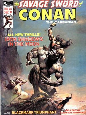 Savage Sword of Conan Vol 1 4