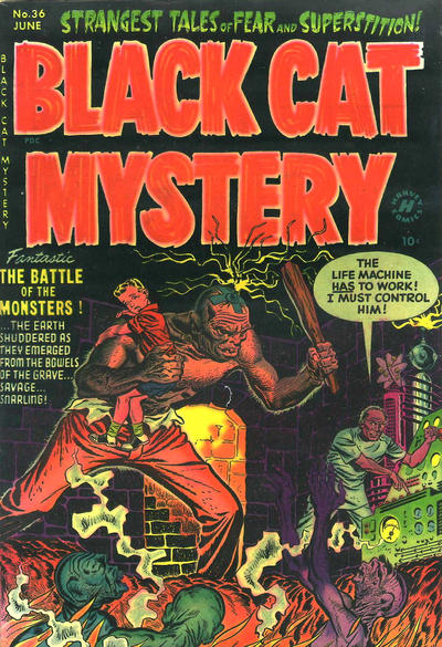 Black Cat Comics Vol 1 36