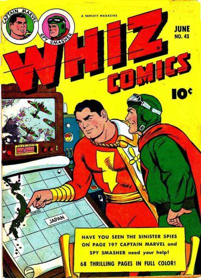 Whiz Comics Vol 1 43