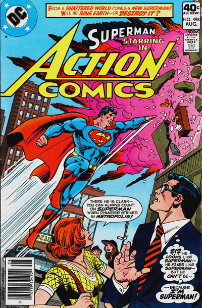 Action Comics Vol 1 498
