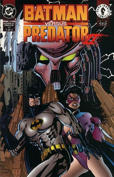 Batman versus Predator/Covers