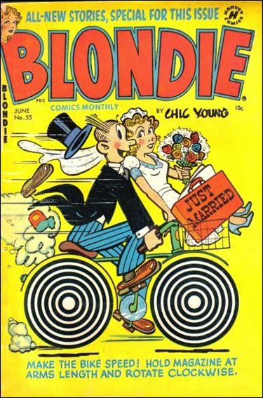 Blondie Comics Vol 1 55