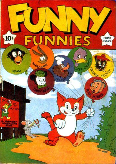 Funny Funnies Vol 1 1