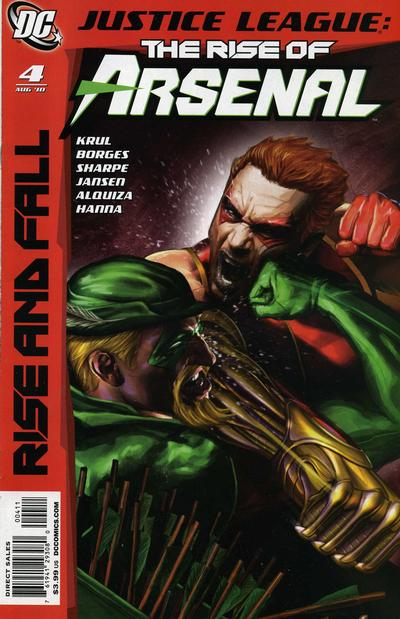 Justice League: The Rise of Arsenal Vol 1 4
