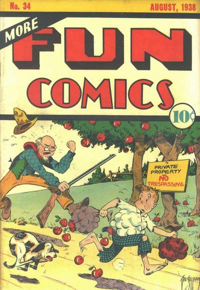 More Fun Comics Vol 1 34
