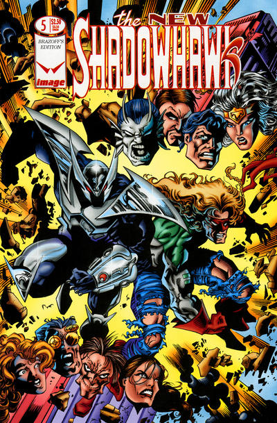 The New Shadowhawk Vol 1 5