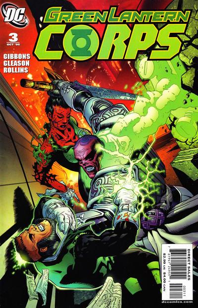 Green Lantern Corps Vol 2 3