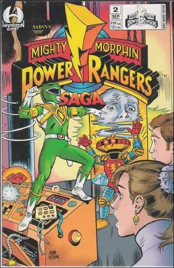 Saban's Mighty Morphin Power Rangers Saga Vol 1 2