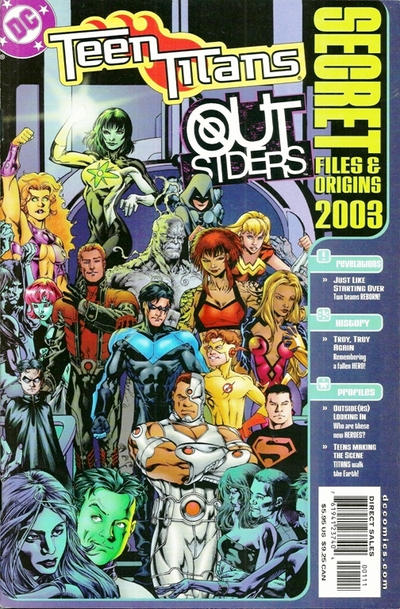 Teen Titans/Outsiders Secret Files and Origins Vol 1