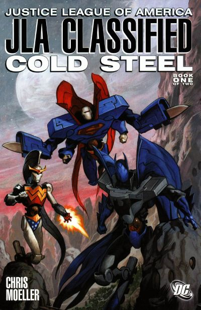 JLA Classified: Cold Steel Vol 1
