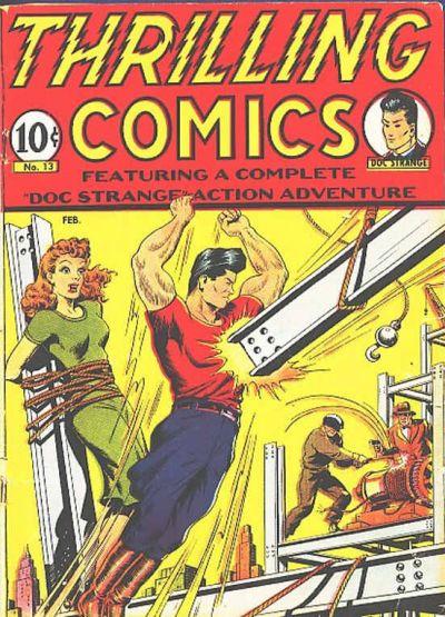 Thrilling Comics Vol 1 13