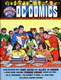 Amazing World of DC Comics/Covers