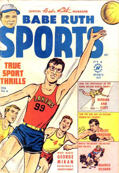 Babe Ruth Sports Comics Vol 1 6