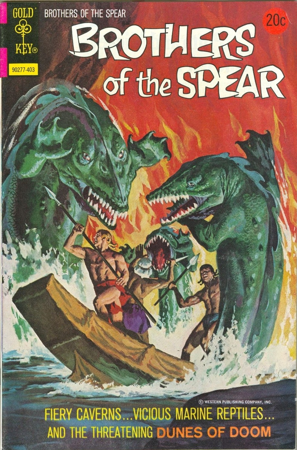 Brothers of the Spear Vol 1 8