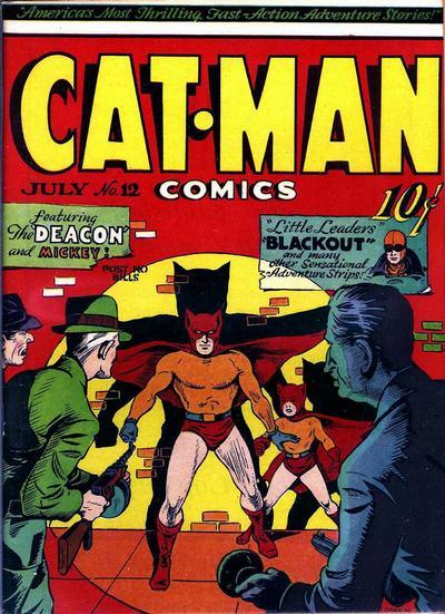 Cat-Man Comics Vol 1 12