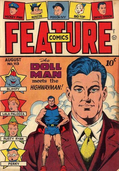 Feature Comics Vol 1 113