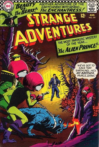 Strange Adventures Vol 1 191