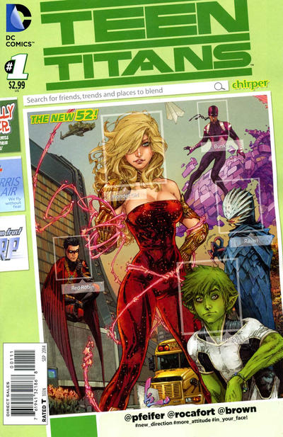 Teen Titans Vol 5 1