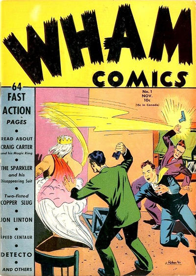 Wham Comics Vol 1
