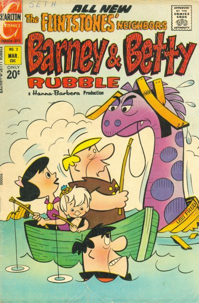 Barney and Betty Rubble Vol 1 2