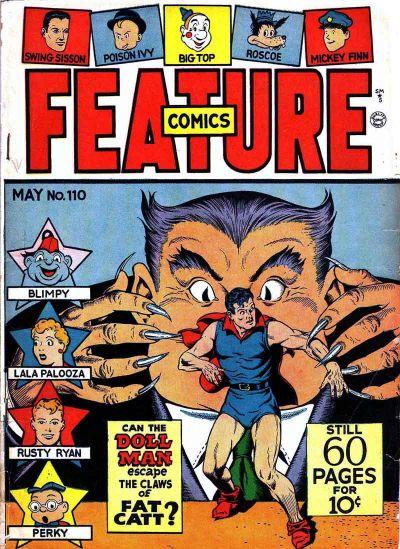 Feature Comics Vol 1 110