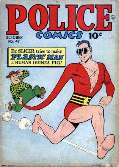 Police Comics Vol 1 47