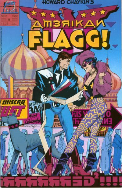 Howard Chaykin's American Flagg Vol 1 5