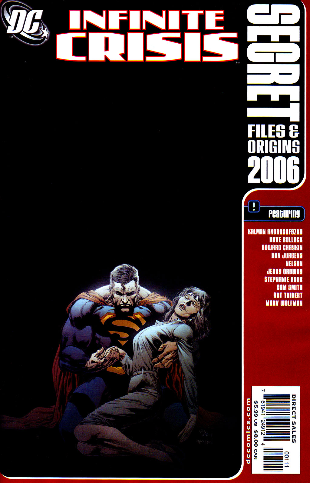 Infinite Crisis Secret Files and Origins Vol 1 1
