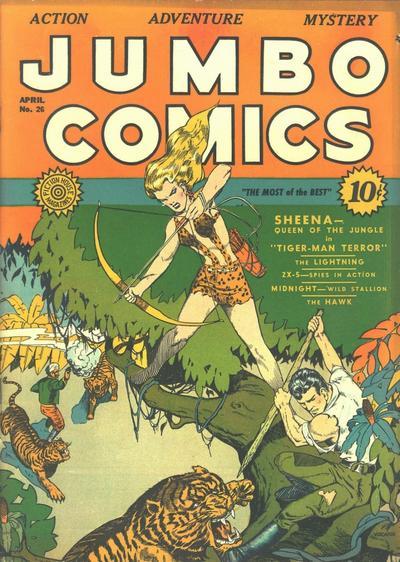 Jumbo Comics Vol 1 26
