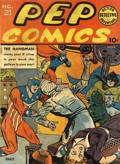 Pep Comics Vol 1 21