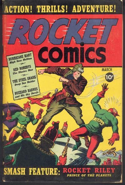 Rocket Comics Vol 1