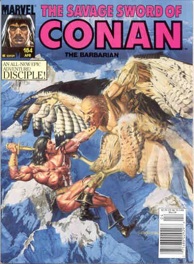 Savage Sword of Conan Vol 1 184