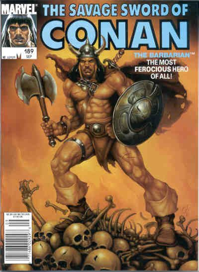 Savage Sword of Conan Vol 1 189