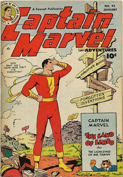 Captain Marvel Adventures Vol 1 92