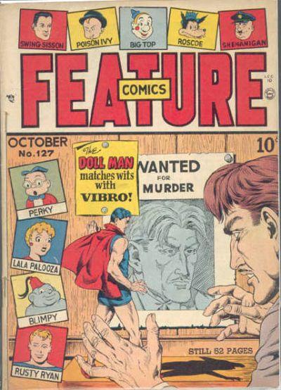 Feature Comics Vol 1 127