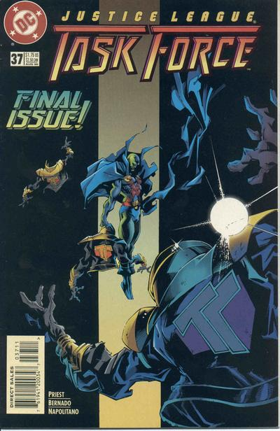 Justice League Task Force Vol 1 37