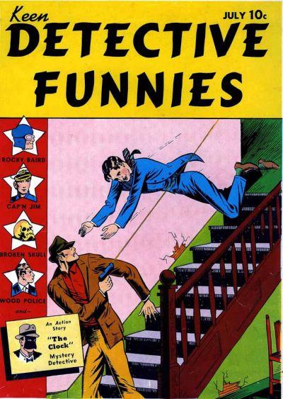 Keen Detective Funnies Vol 1