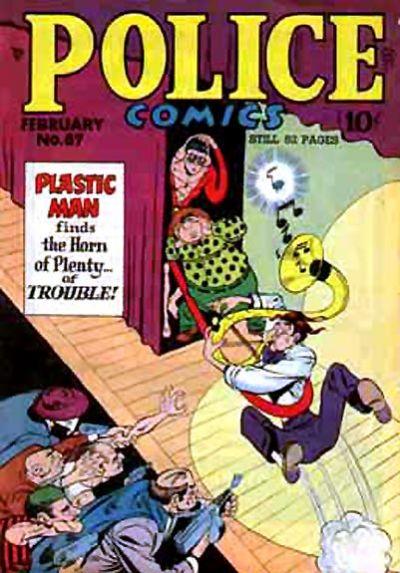 Police Comics Vol 1 87