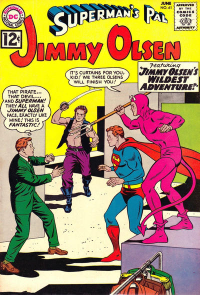 Superman's Pal, Jimmy Olsen Vol 1 61