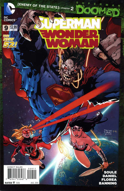 Superman/Wonder Woman Vol 1 9