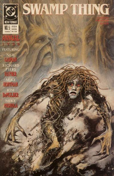 Swamp Thing Annual Vol 2 5