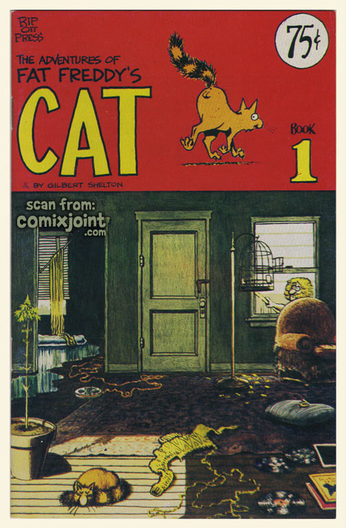 The Adventures of Fat Freddy's Cat Vol 1